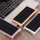 Power Bank Çiftli USB Girişli Solar 30000MAH