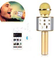 Kaplosuz Bluetooth Mikrofon (Karaoke)