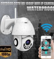 Zjuxin IP Kamera WiFi 2MP 1080 P Kablosuz PTZ Speed Dome